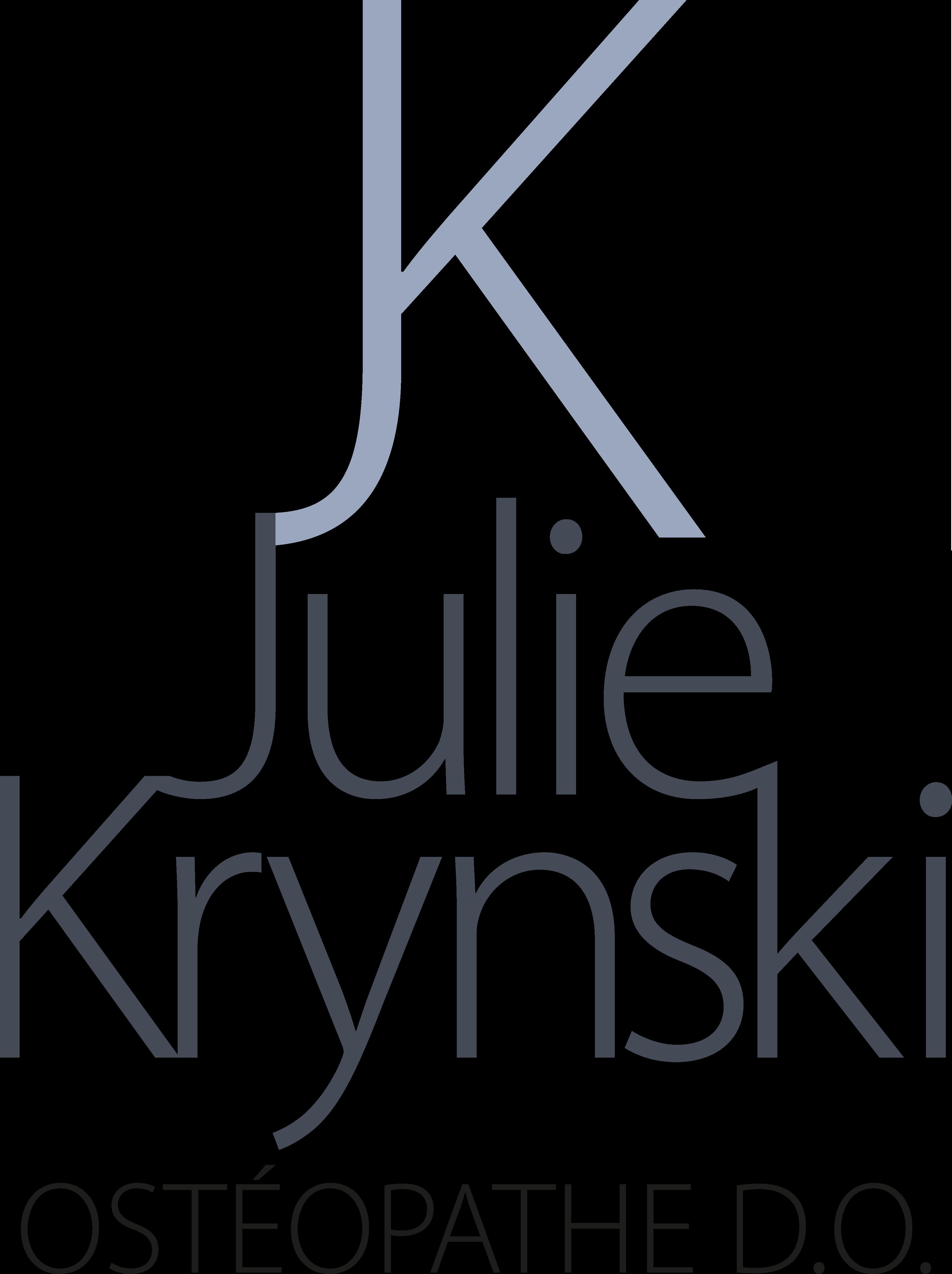 Julie Krynski Ostéopathe Libourne La Sauve